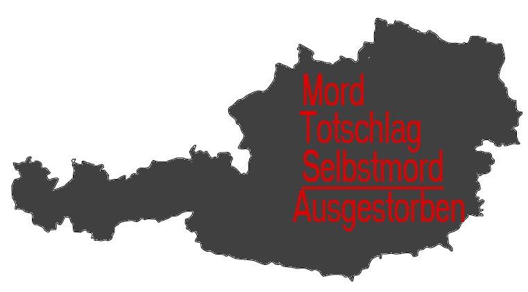 Was ist los in Austria? Fast jeden Tag gibt es Mord mit Selbstmord