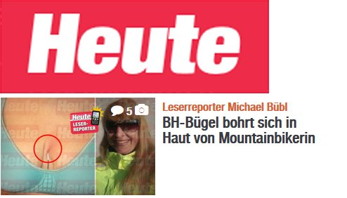 Managerin Ilse Pöllmann entging knapp einer Verletzung