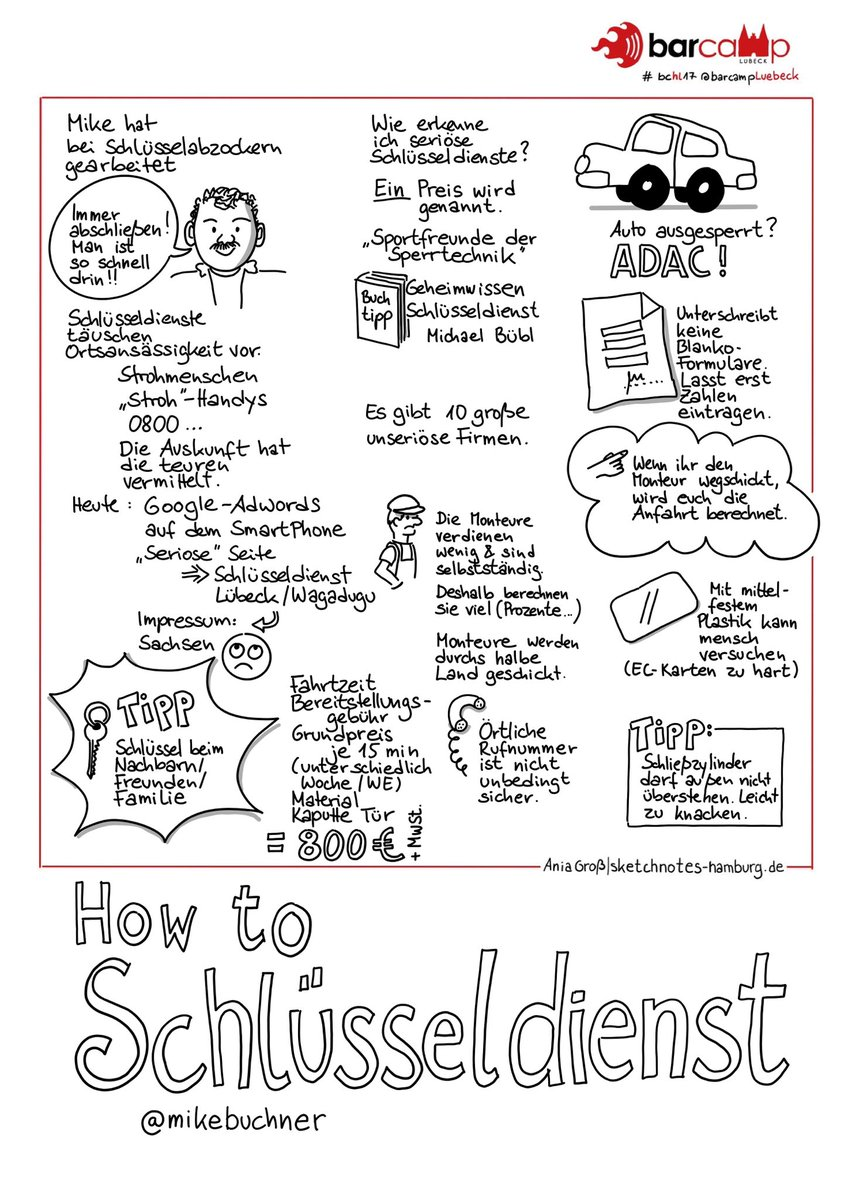 How to Schlüsseldienst als Comic