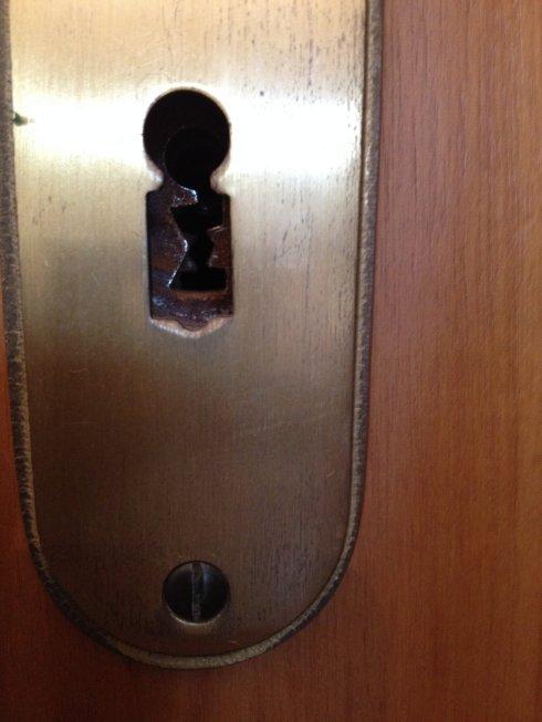 Dieses einfache Bild vom Smartphone sendete der Mann ohn Schlüssel - Das genügt