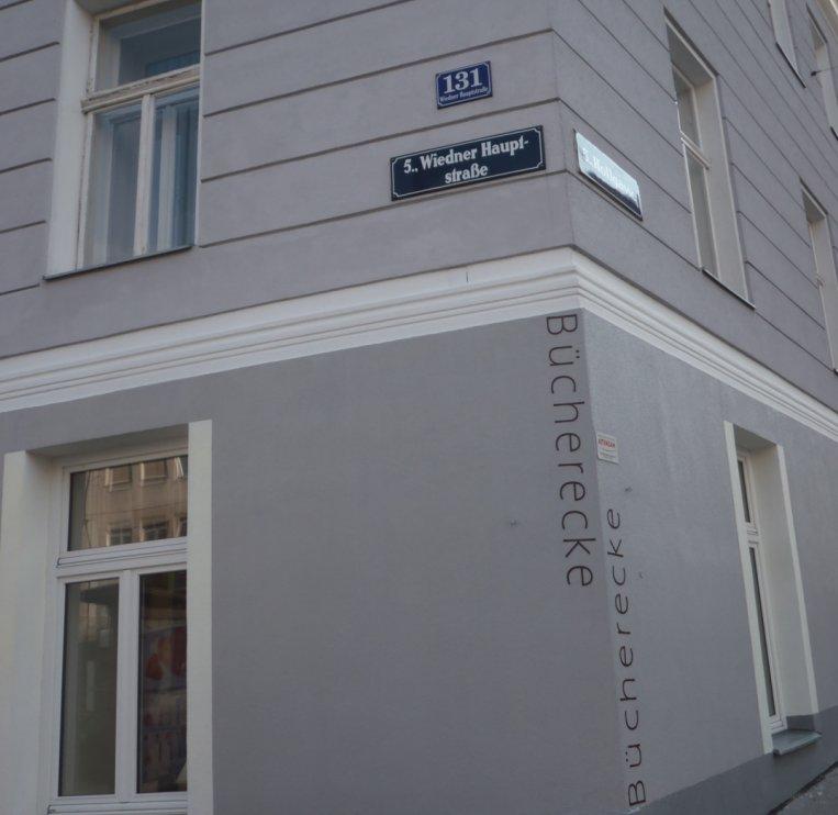 Bücherecke Wiedner Hauptrasse 131 Dort müssen Sie hin!