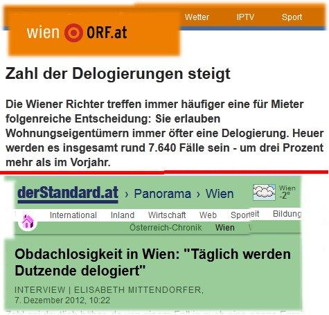 Delogierungen Wien