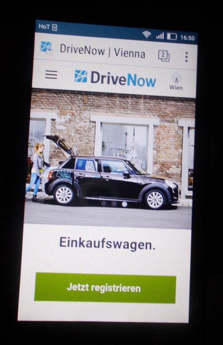 Offensichtlich werden bei Drive Now alle Daten gespeichert und auch verwendet