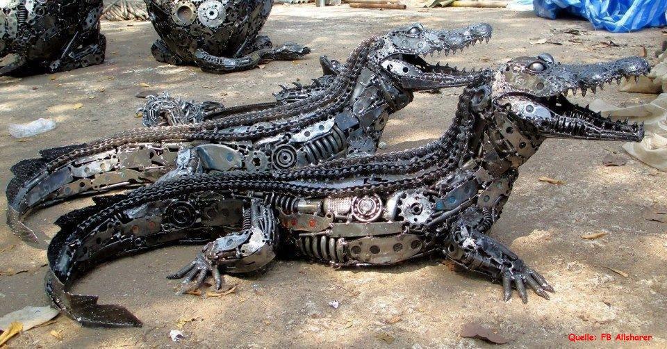 Eisen Krokodil