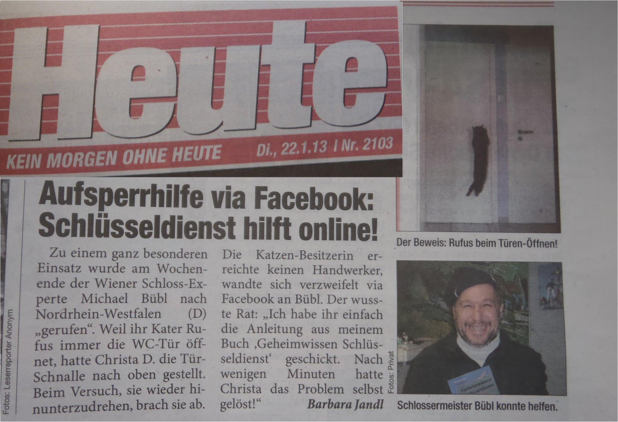 Tageszeitung heute
