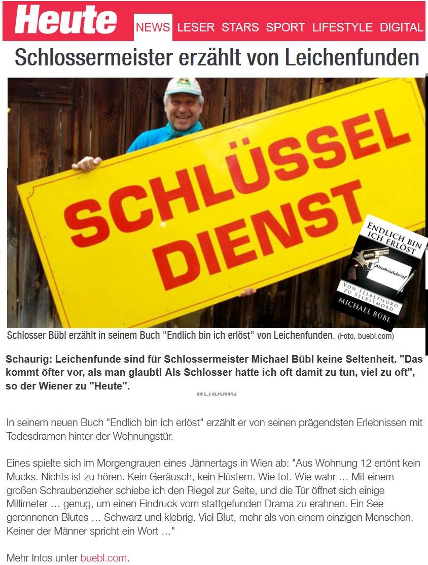 Tageszeitung Heute gehört zu den wichtigsten Medien des Landes Toller Bericht - Vielen Dank!