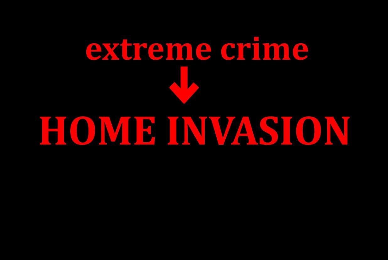 Einer der schwersten Verbrechen ist auf dem Vormarsch in Europa Home Invasion  Schützen Sie sich!