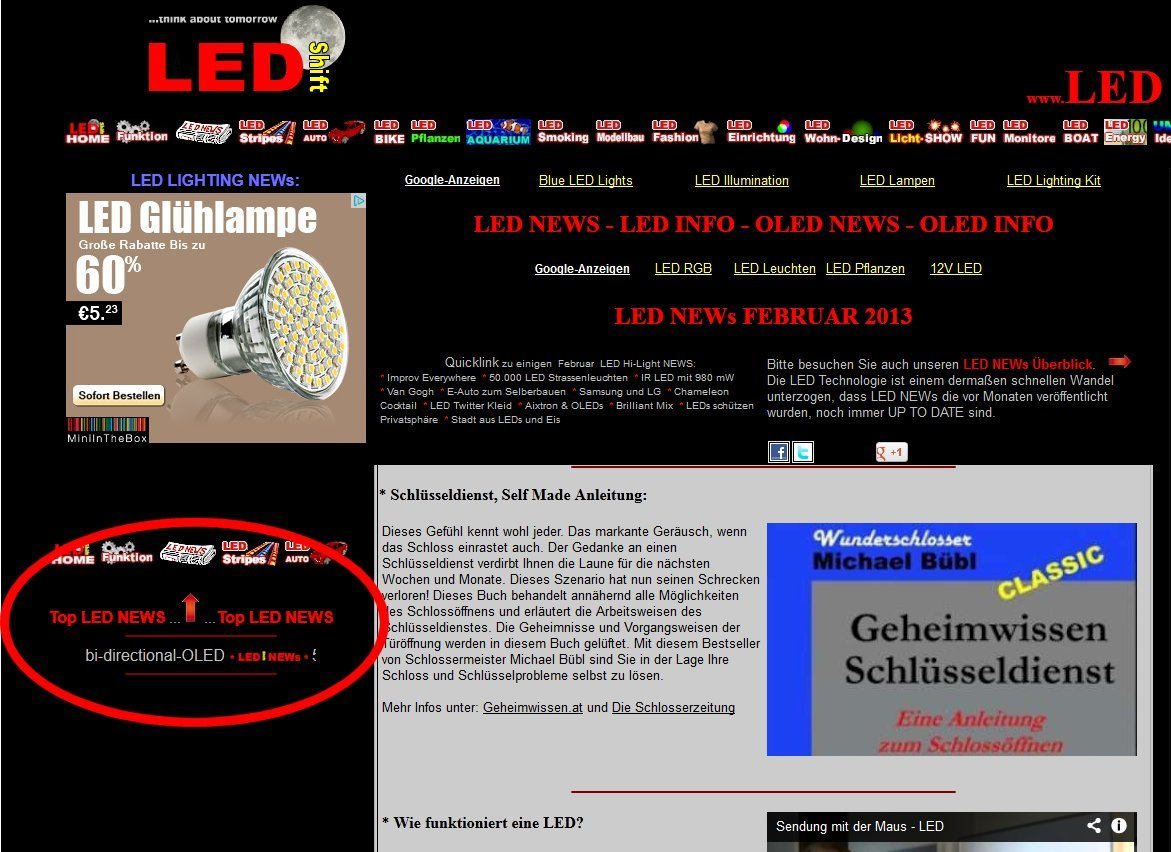 Ledshift News