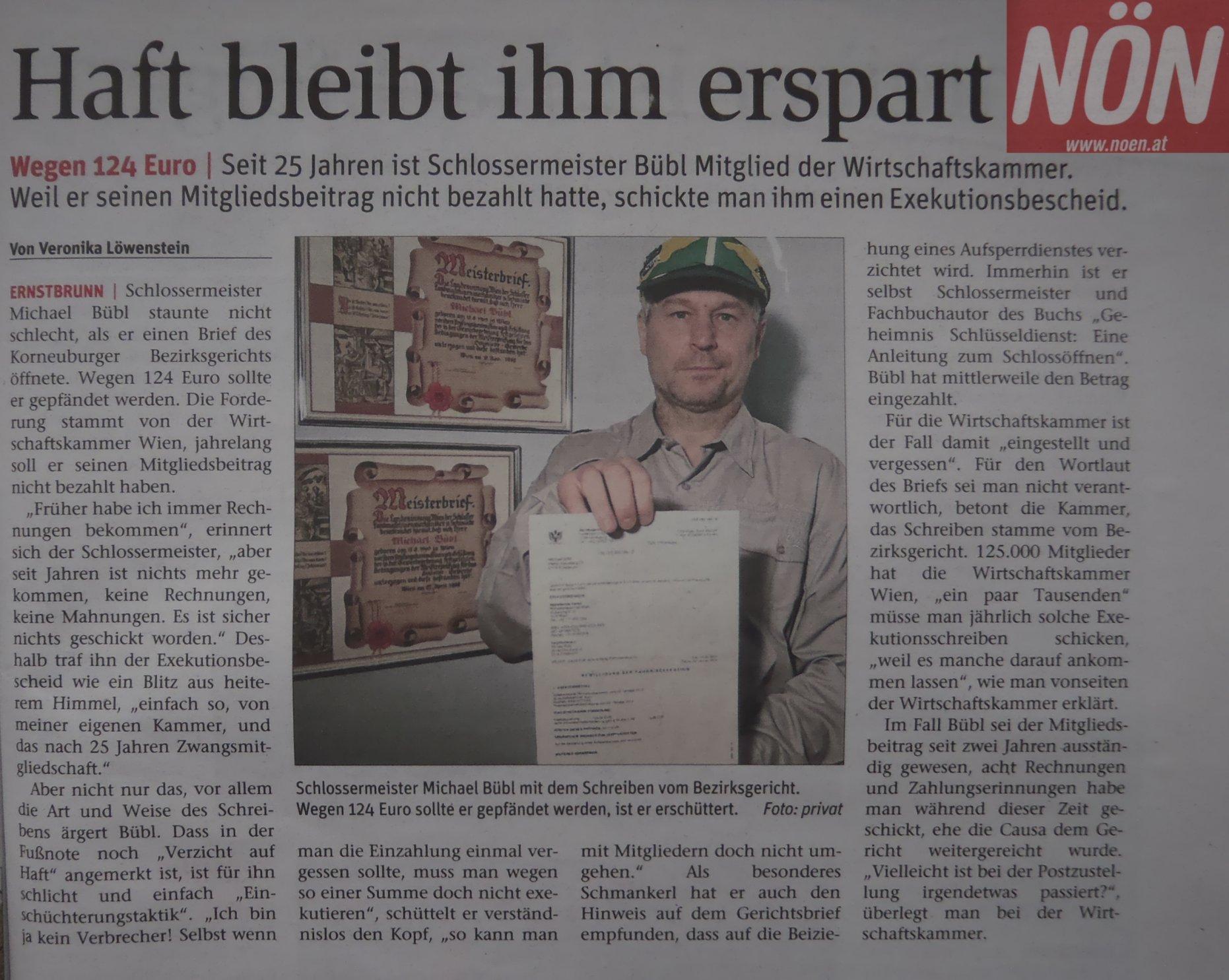 NÖN, Michael Bübl