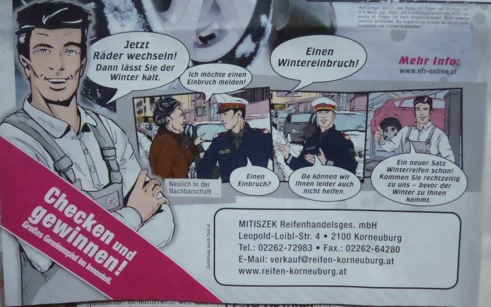 Unschlagbarer Einfall eines kleinen Gewerbebetriebs in Österreich