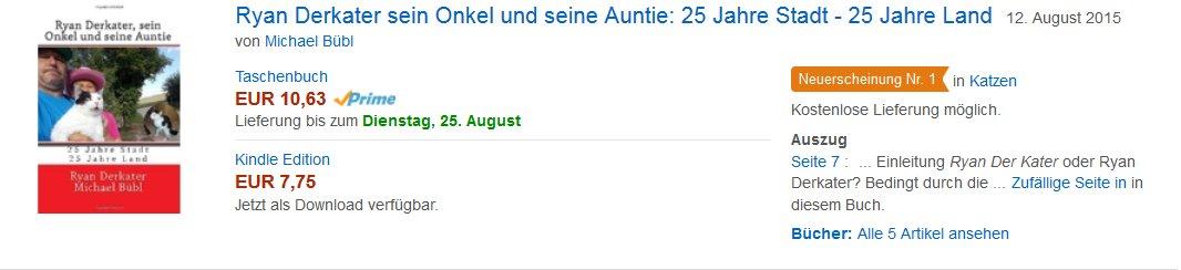 Top Neuerscheinung bei Amazon! Ein fantaschische Buch mit enormen Unterhaltungswert und ernstem Hintergrund - um 10 Euro sind Sie dabei!
