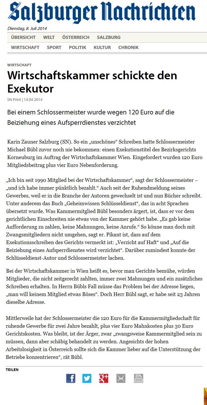 Salzburger Nachrichten Bübl