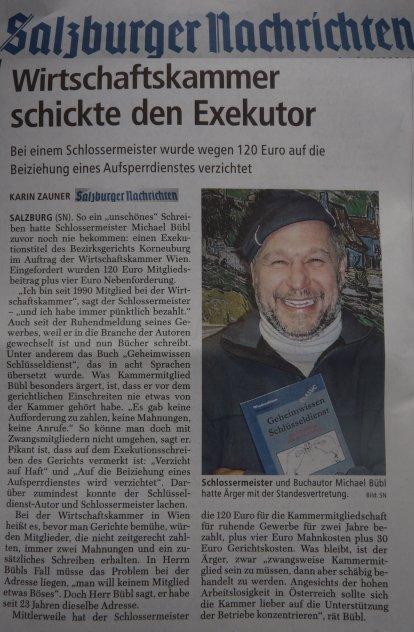 """Im Westen der Republik berichten die Salzburger Nachrichten über die """"Enteignung"""" eines Bürgers.    Und """"Westen"""" ist keine Himmelsrichtung"""