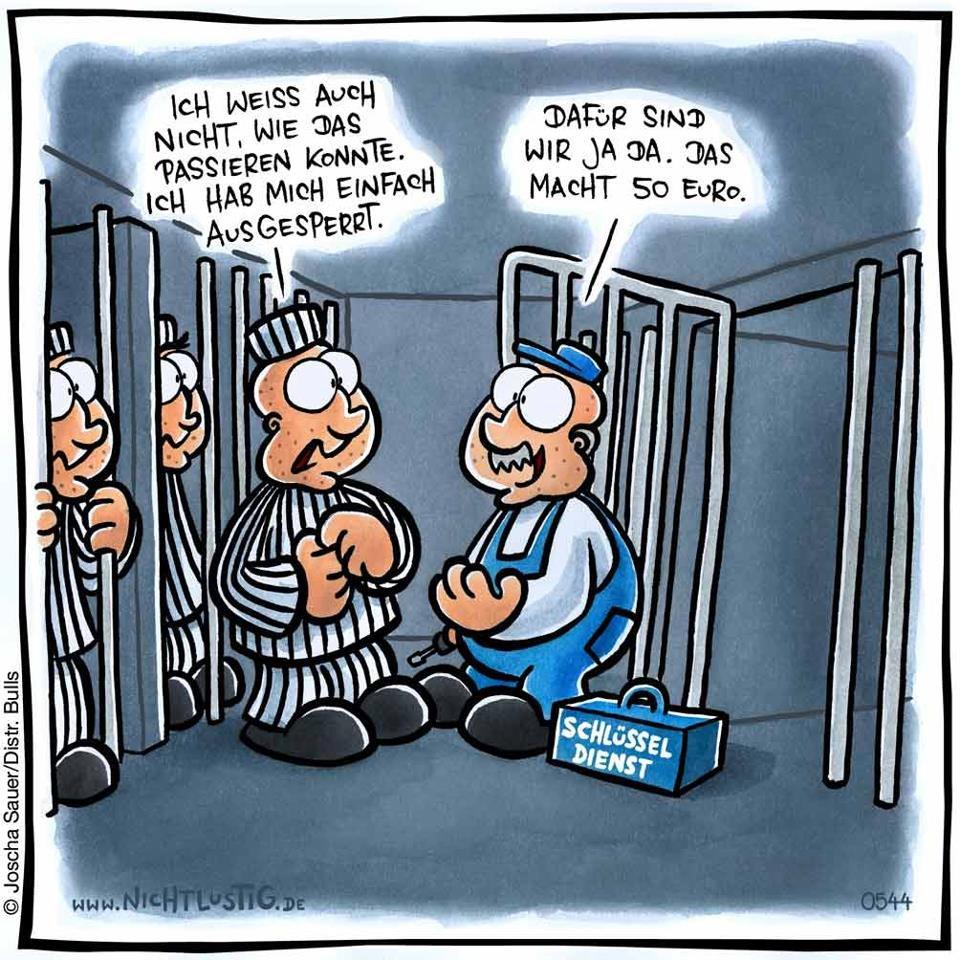 Schlüsseldienst im Gefängnis
