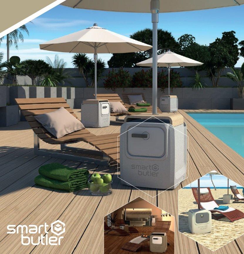 Der SmartButler: So lässt sich entspannt Urlaub machen. Sichere Verwahrung von Mobiltelefon, Ausweis oder Geld