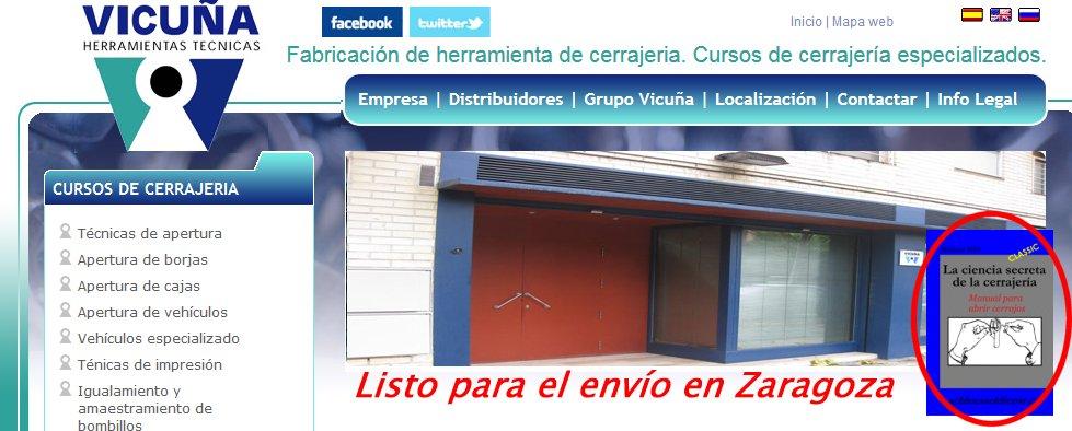 MANUAL DE CERRAJERIA - vicunja En España un éxito de ventas