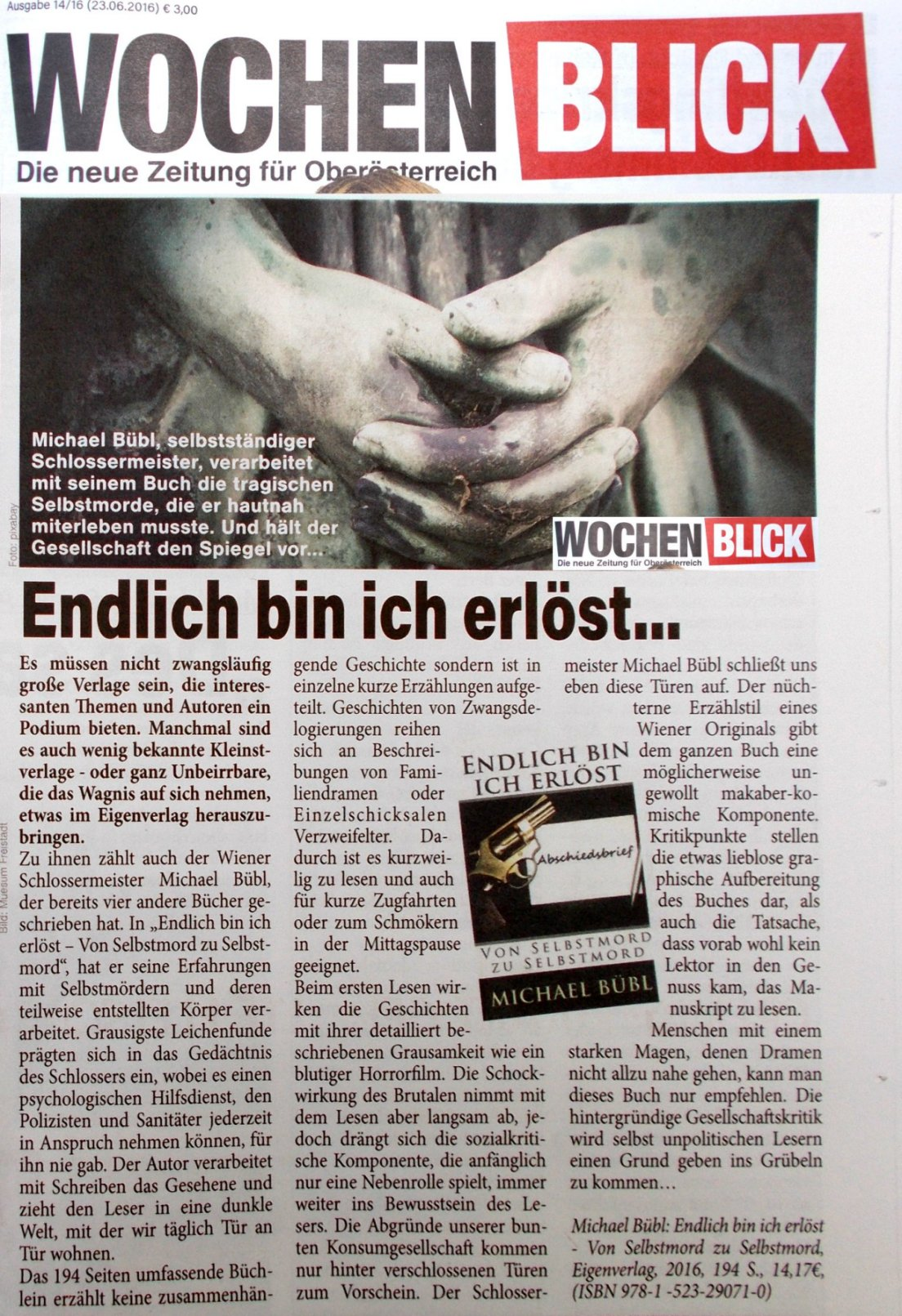 "ein grandioser Bericht im ""Wochenblick"" Absolut lesenswert!"